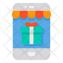 Gift Box Gift Smartphone Icon