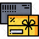 Gift Card Gift Voucher Gift Coupon Icon