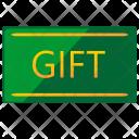 Gift Card Plastic Icon