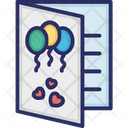 Gift Card Card Birthday Party Icon