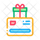 Discount Card Gift Icon