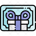 Gift Card Gift Voucher Shopping Card Icon