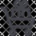 Cart Gift Shopping Icon