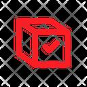 Gift Check Box Icon