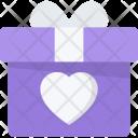 Gift Couple Love Icon