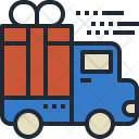 Gift Delivery Shipping Icon