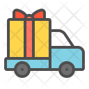 Gift Present Transport Icon