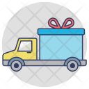Delivery Van Gift Icon