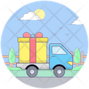 Gift Delivery Delivery Transport Ecommerce Delivery Icon