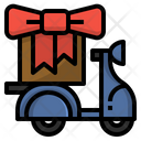 Gift Delivery Surprise Icon