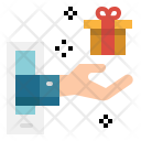 Delivery Gift Shopping Icon