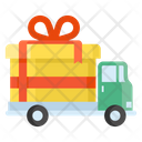 Delivery Van Gift Delivery Cargo Icon