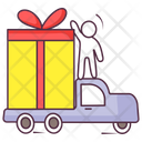 Gift Delivery Parcel Delivery Package Delivery Icon