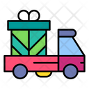 Gift Delivery Delivery Truck Delivery Icon