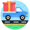 Present Delivery Gift Delivery Gift Shipment Icon