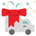 Gift Sending Delivery Icon