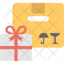 Gift Delivery Concept Icon