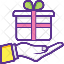 Gift Delivery Service Icon