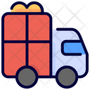 Gift Delivery Truck Icon