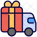 Car Delivery Gift Icon