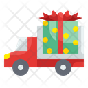 Gift Delivery Truck Delivery Gift Delivery Icon
