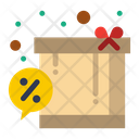 Box Discount Gift Icon