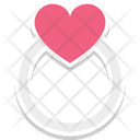 Gift Femininity Girlish Heart Ring Icon
