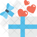 Gift Hamper Loving Icon