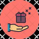 Gift handover Icon