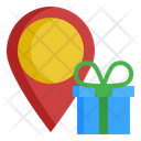 Location Birthday Gift Icon