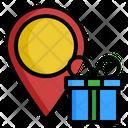 Location Birthday Gift Icon