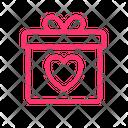 Gift Love Love Present Icon