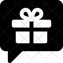 Gift message Icon