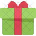 Gift New Year Icon