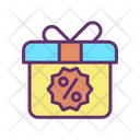 Gift Sale Advertising Icon