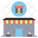 Gift Shop Location Gift Icon