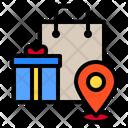Gift Shop Location Icon