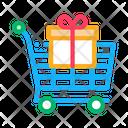Trolley Gift Loyalty Icon