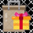 Shopping Gift Box Celebration Icon
