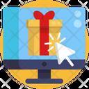 Cyber Monday Shopping Gift Box Icon