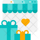 Gift Shopping Gift Present Icon