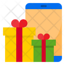 Gift Shopping Gift Store Icon