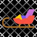 Gift sledge Icon