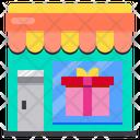 Gift Box Shop Icon