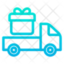 Gift Truck Icon