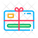 Gift Certificate Bow Icon
