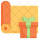 Online Shopping Gift Wrapping Present Icon