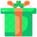 St Patricks Day Birthday And Party Giftbox Icon