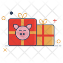 Paper Chinese Gift Icon