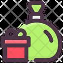 Santa Bag Sack Icon
